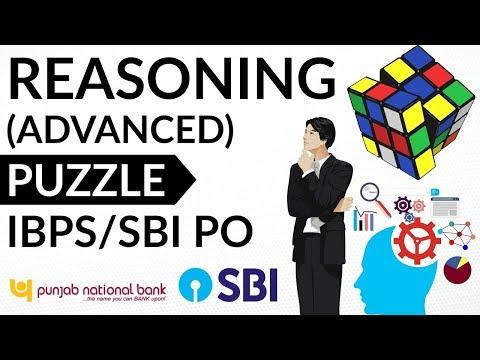 Puzzle (High Level) Set 17 for SBI PO / IBPS PO / Clerk / Bank PO / LIC / SSC CGL / CHSL / LDC / MTS