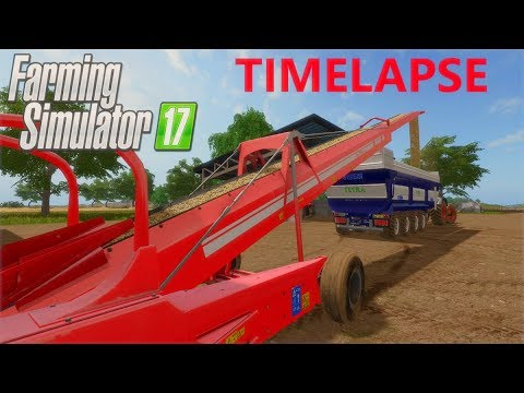 Farming Simulator 17 | Timelapse | The Old Man Of The Sea | Episode 3