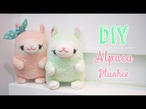 Kawaii Alpaca Sock Plushie Tutorial – DIY