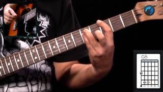 Audioslave - Like a Stone (aula de guitarra completa)