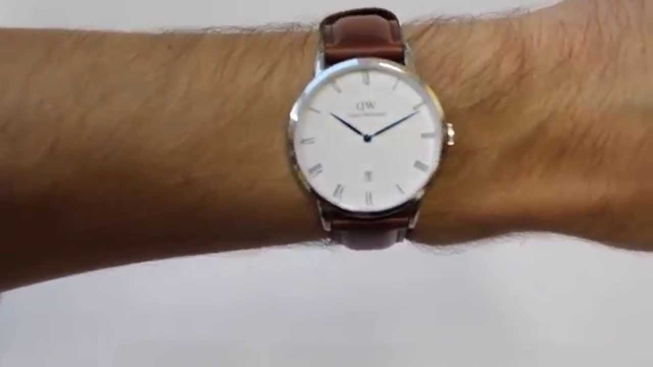 daniel wellington horloge st mawes youtube. Black Bedroom Furniture Sets. Home Design Ideas