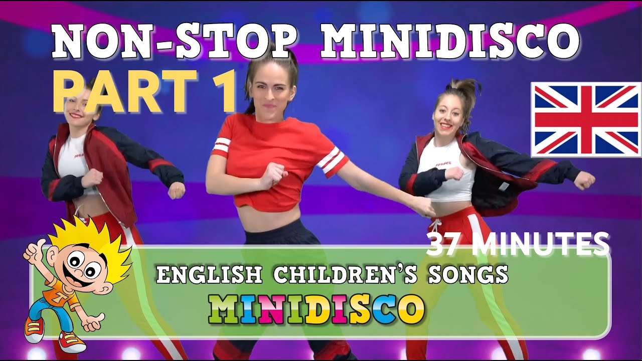 mini disco 2018 children s songs dance instruction holiday
