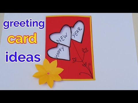 Happy New year greeting cards | greeting card making ideas ...
