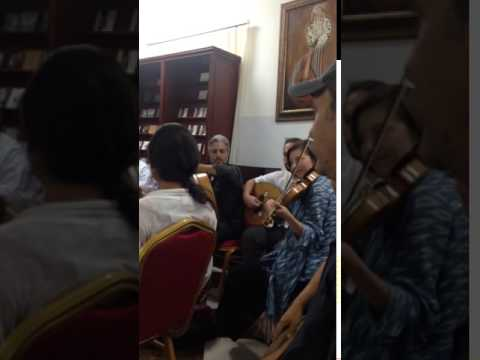 Omani jam session with MESTO musicians