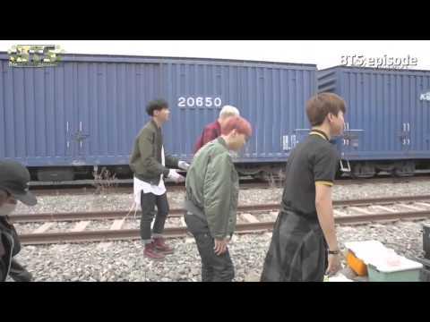 [BangTanSodamn][Vietsub] BTS 'I NEED U' MV shooting