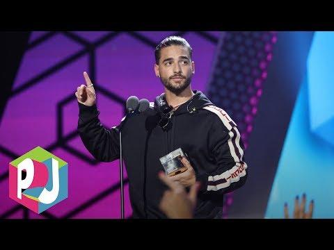 Maluma se lleva el  Súper Sónico Award en Premios Juventud 2017