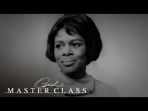 How Cicely Tyson Proved She Had a Gift  Oprah's Master Class  Oprah Winfrey Network