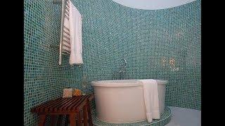 видео Дизайн ванной комнаты с мозаикой, фото оформления интерьеров и дизайна