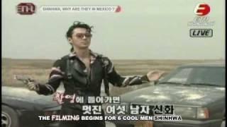 vuclip (Eng Sub) 080402 EnU- Shinhwa 9th Album Run MV Film Site
