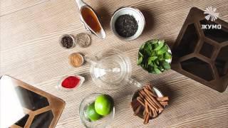 """""""Авторские чаи от Хумо Chaihona & Lounge cafe. Видео рецепты Витаминного и Пряного чаев"""""""