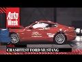 Ford Mustang Crashtest - AutoWeek