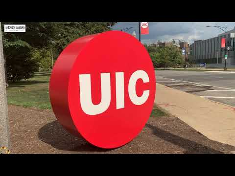 University Of Illinois At Chicago Tour | College Tour In USA | Post Pandemic At UIC | Krish Bavana