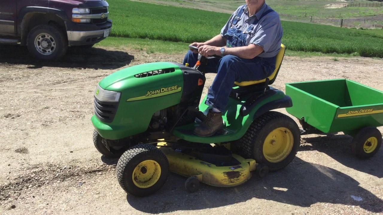 John Deere L130 Automatic Lawn Mower Youtube. John Deere L130 Automatic Lawn Mower. John Deere. John Deere 130l Lawn Tractor Parts Diagram At Scoala.co