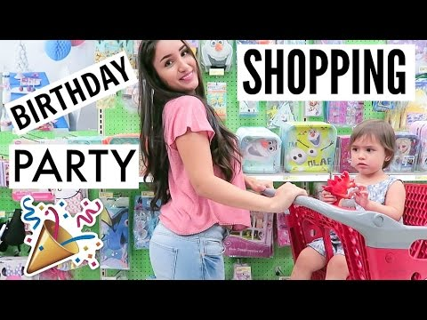 Birthday Party Shopping!