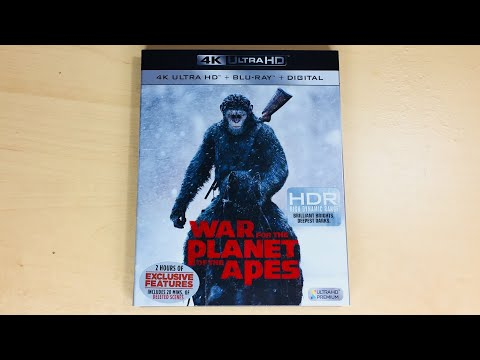 War for the Planet of the Apes - 4K Ultra HD Blu-ray Unboxing