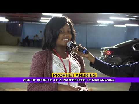 Satan Tried To Use RAIN TO STOP HER WEDDING Ll Prophet Andries, Son Of Apostle JB Makananisa