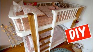 Etagenbett selber bauen für Kinder.
