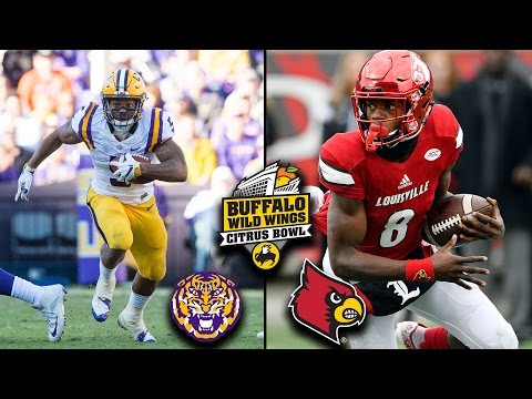 Citrus Bowl Preview: Louisville Takes Aim At LSU