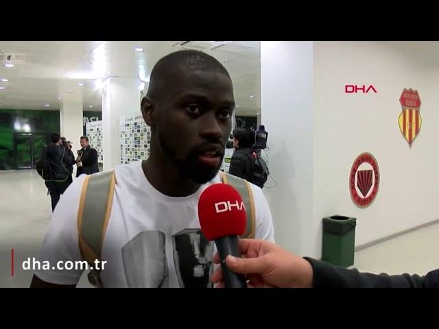 Galatasaraylı futbolcu N'Diaye: Takım ikinci yarı çok iyi reaksiyon gösterdi