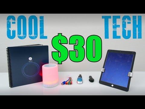 Cool Tech Under $30  - October