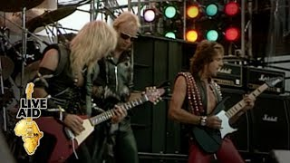Judas Priest - The Green Manalishi (With The Two-Pronged Crown) (Live Aid 1985)
