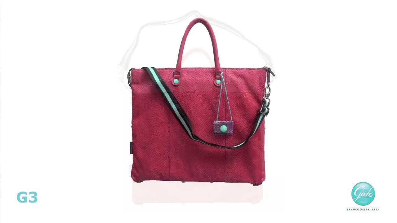Gabs, le meravigliose borse che si trasformano...   ondeNews