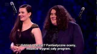 (Napisy)Brytyjski Mam Talent 6 - Półfinał - Jonathan & Charlotte