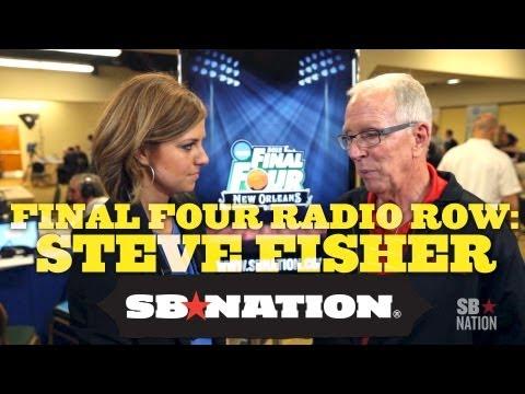 Final Four Radio Row - Steve Fisher