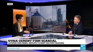 Syria cement firm scandal: