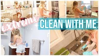 CLEAN WITH ME 2019 // CLEANING MOTIVATION + STAY AT HOME MOM CLEANING ROUTINE // SUNDAYS AT TIFFANIS