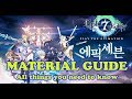 Epic Seven - MATERIAL GUIDE!