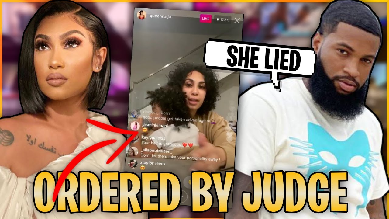 Queen Naija Gets ORDERED By JUDGE To Release CJ to Chris Sails?