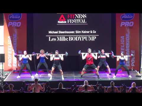 LesMills BodyPump 103 (2)   Reebok Fitness Festival 2017