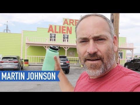 Area 51 Alien Center - American Road Trip - Tennessee to California