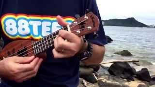 TA-HU-WA-HU-WA-I/ukulele cover タフ・ワフ・ワ・イ(solo ukulele)