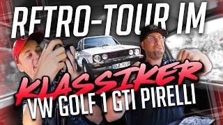 JP Performance - Retro-Tour im Klassiker! | VW Golf 1 GTI Pirelli