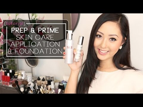 TUTORIAL: Prep + Prime! Foundation Routine feat. SK-II, By Terry & Armani