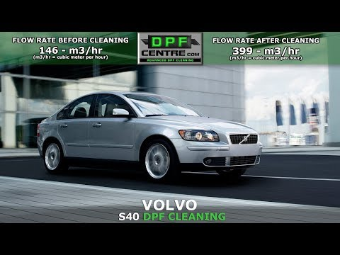 Volvo S40 1.6 TD DPF Cleaning