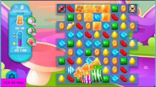 Candy Crush Soda Saga Level 1249 NO BOOSTERS Cookie