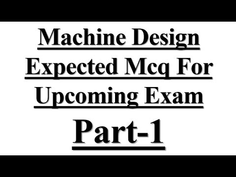 Mechanical Engineering mcq on # Machine Design Expected Mcq For Upcoming Exam