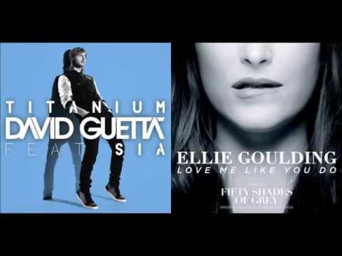 Ellie Goulding vs David Guetta ft Sia - Love Me Like Titanium (Mixed)