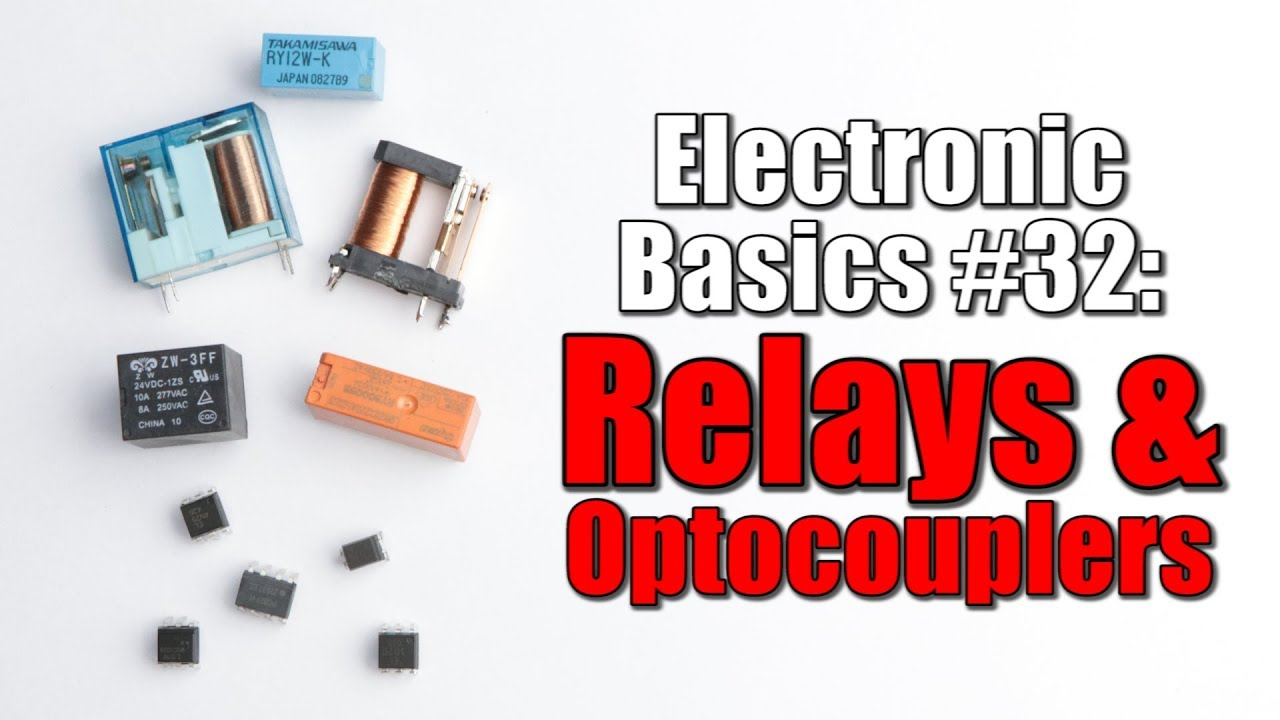 Electronic Basics 32 Relays Optocouplers Youtube Moc3051m Optotriac I Want To Build A Snubber Circuit For The Triac