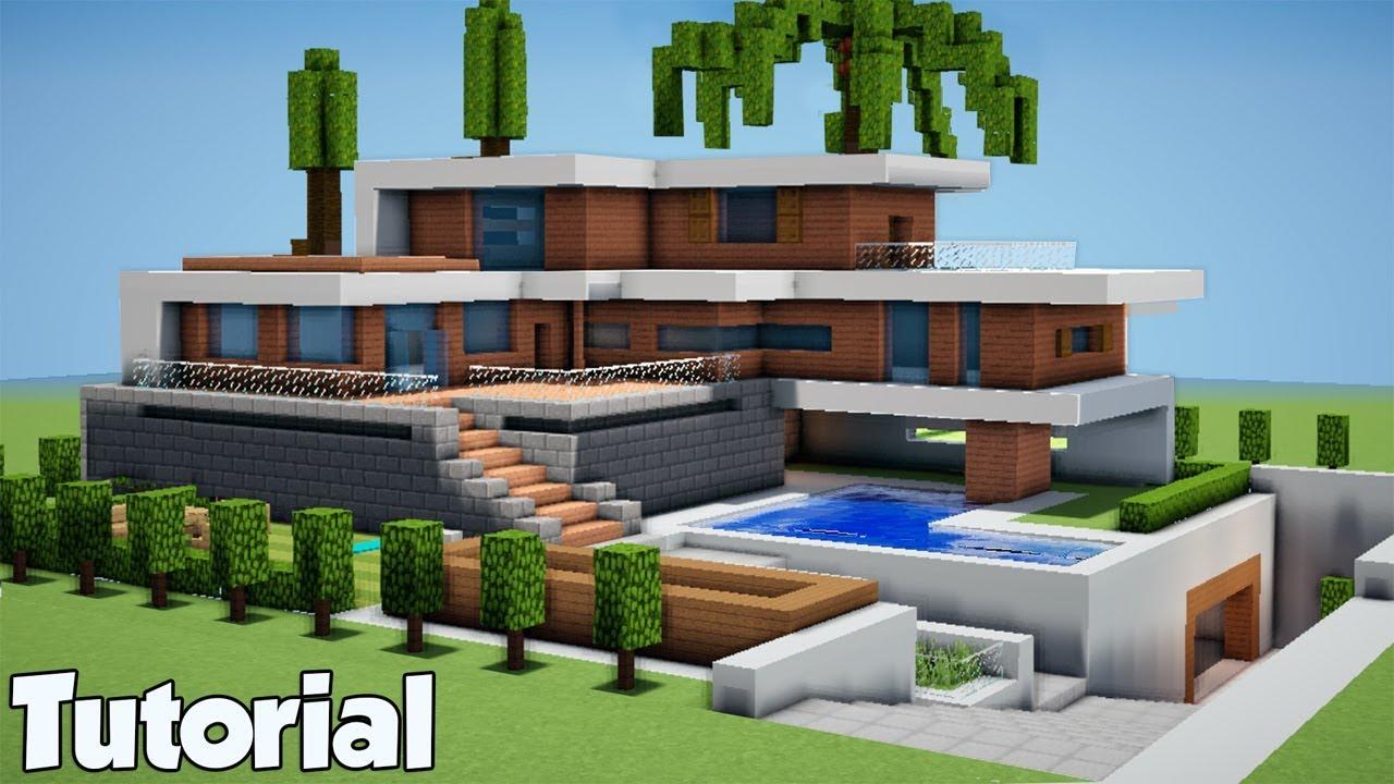 Minecraft: How To Build A Modern Beach House