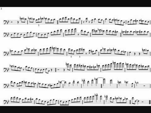 Bob McChesney 'Compilation' Trombone Solo Transcription