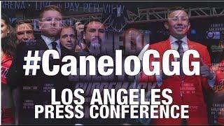 CANELO Alvarez VS. Gennady GGG Golovkin LOS ANGELES Presser