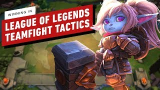 Scoring a Win In League of Legends: Teamfight Tactics (Auto-Chess Gameplay)