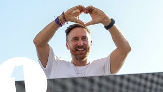 David Guetta live at Café Mambo for Radio 1 in Ibiza 2017