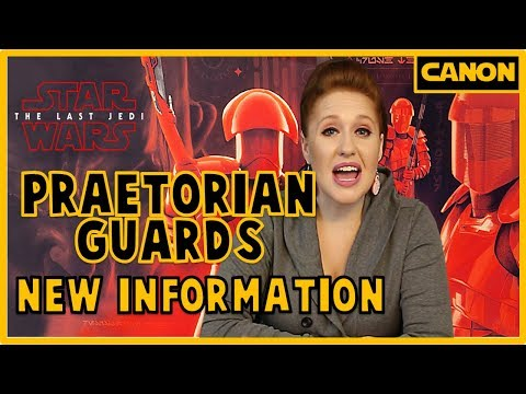 Elite Praetorian Guards: New Information