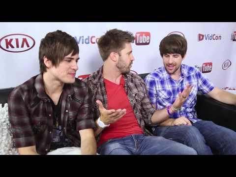 Smosh Backstage with Sourcefed at VidCon 2013