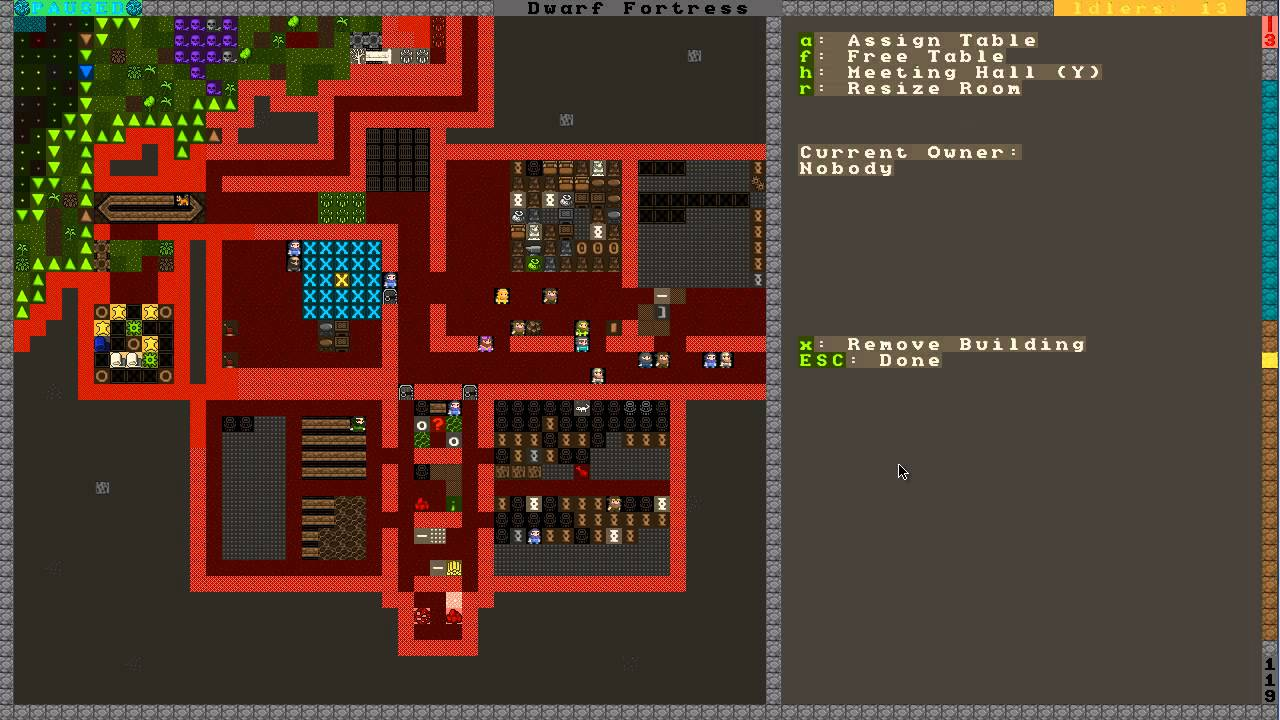 How To Get Started With Dwarf Fortress Part Dining Hall - Bedroom design dwarf fortress